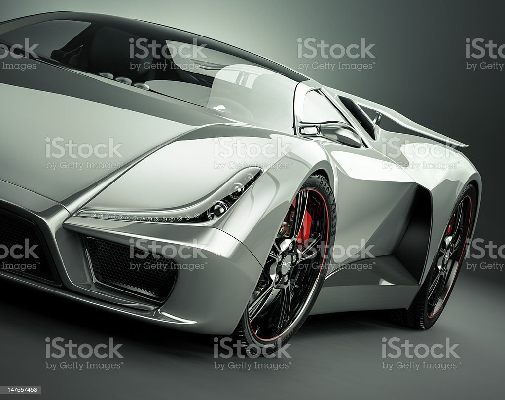 Sports Car stock photo