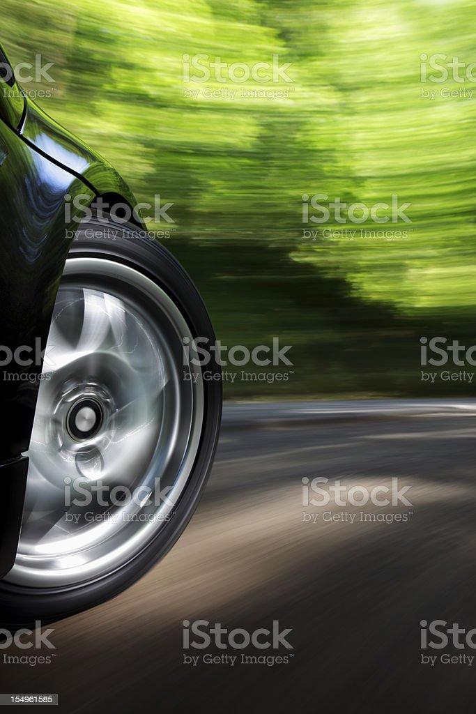 Sports Car Speed stock photo