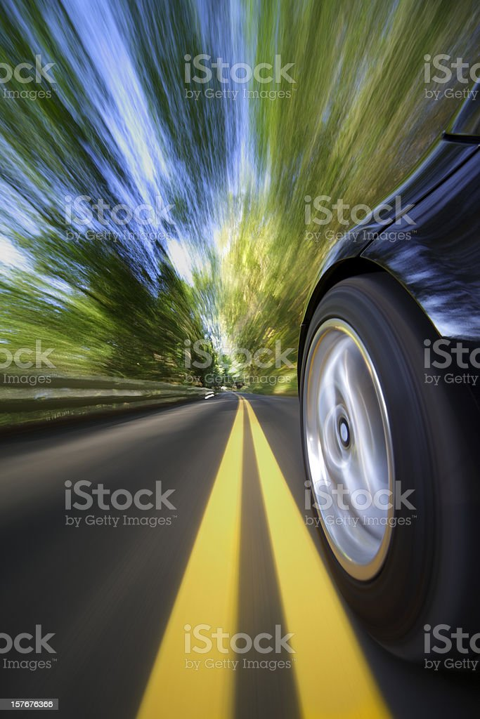 Sports Car Speed. stock photo