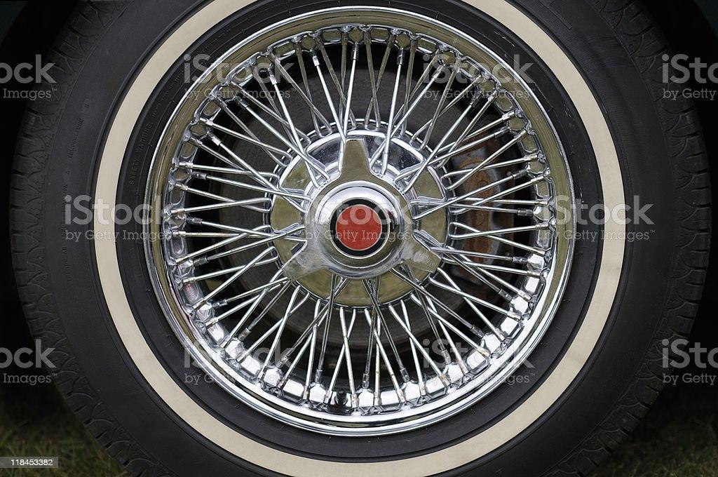 Sports Car Wheel royalty-free stock photo
