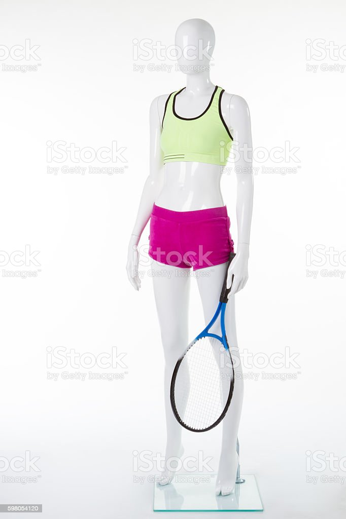 Sports clothing for tennis. stock photo