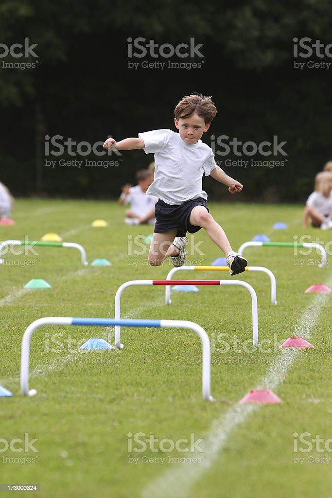 Sports day stock photo