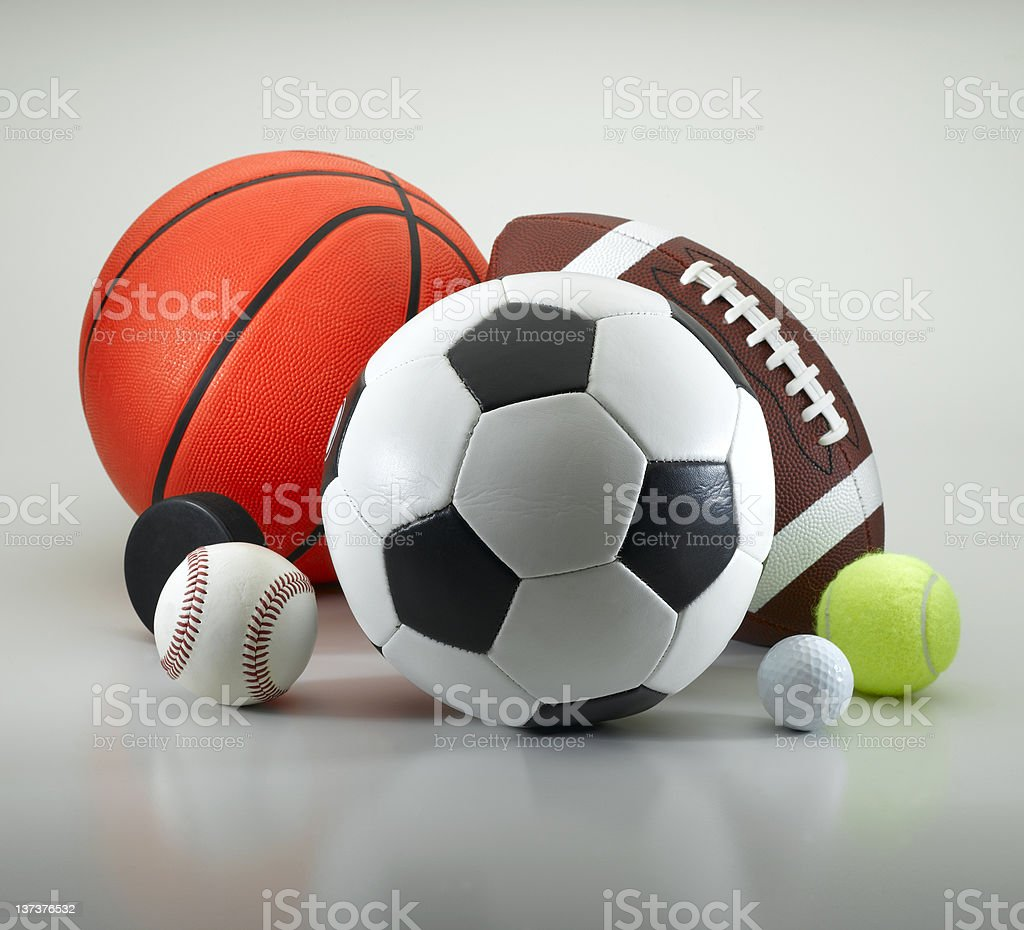 Sports Equipment royalty-free stock photo