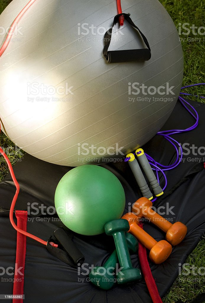 Sports equipment. royalty-free stock photo