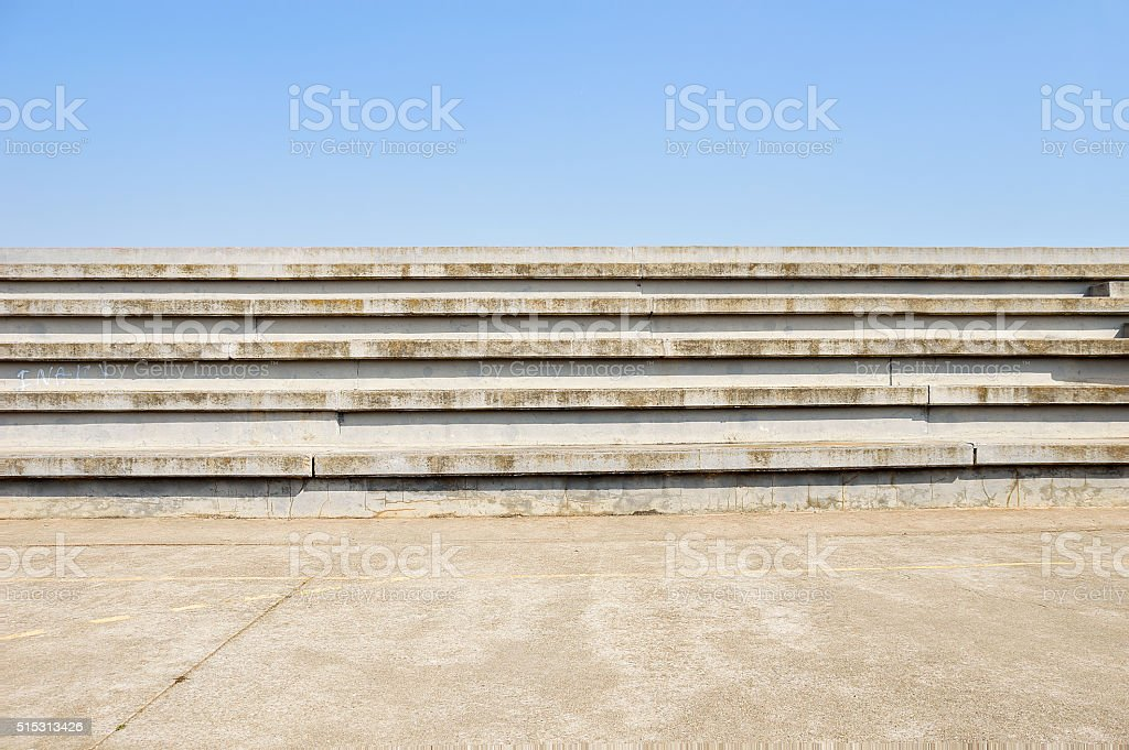 sports facilities in the city stock photo