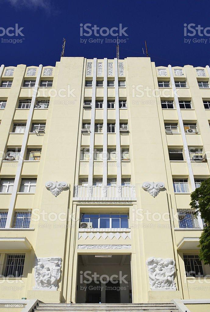Sports federations building, Salvador da Bahia, Brazil stock photo