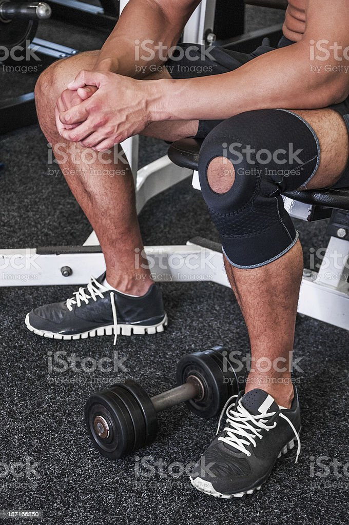 Sports injuries stock photo