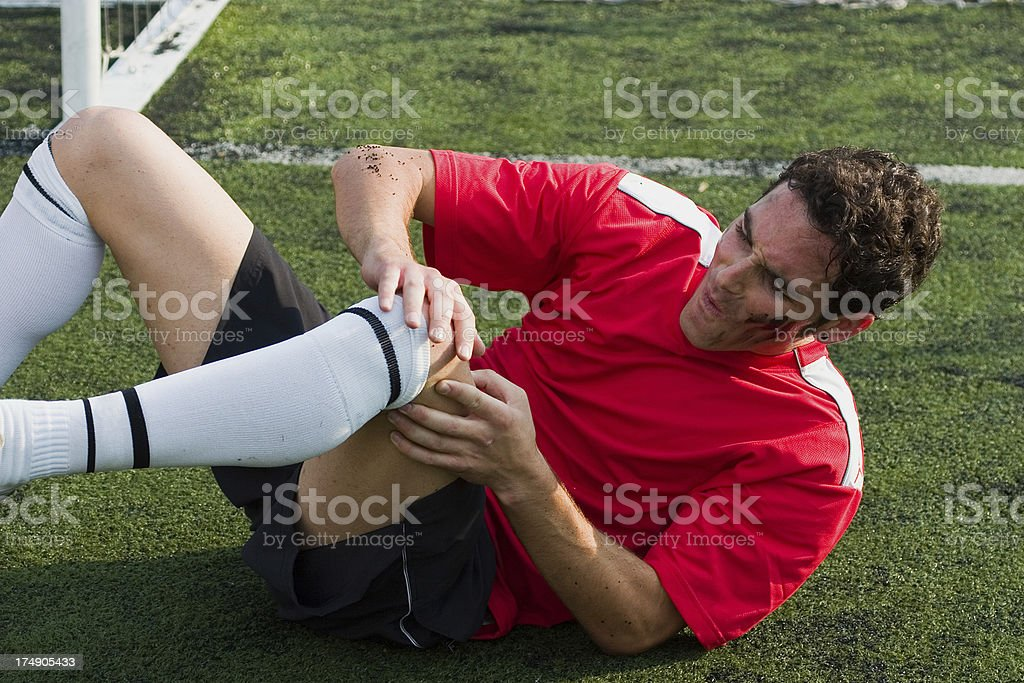 Sports Injury royalty-free stock photo