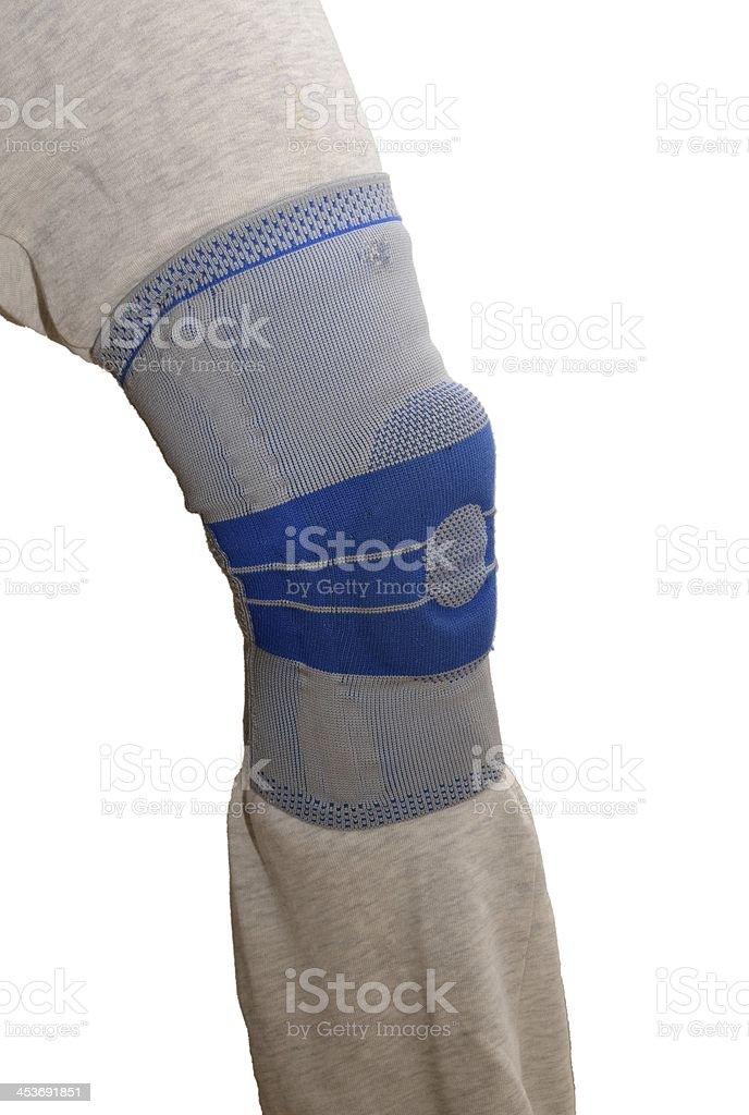 Sports knee brace royalty-free stock photo