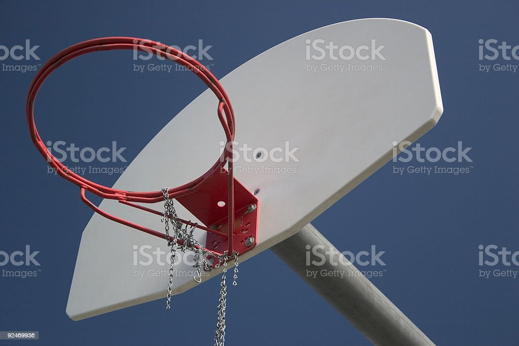 Sports, Outdoor basketball stock photo