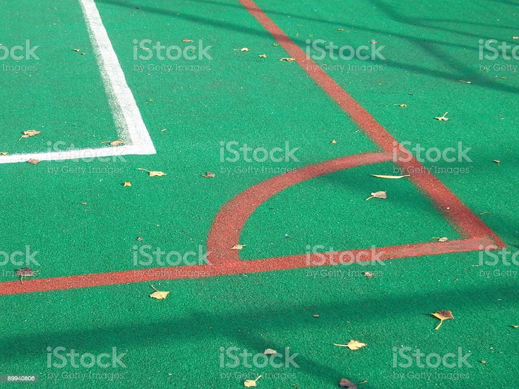 Sports Pitch royalty-free stock photo