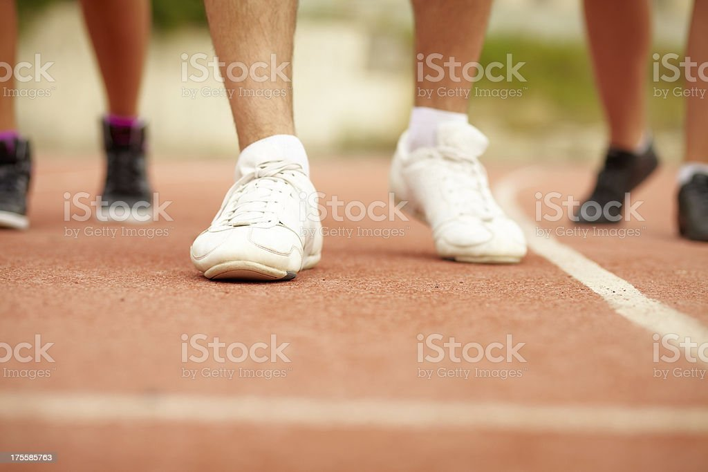 Sports shoes royalty-free stock photo