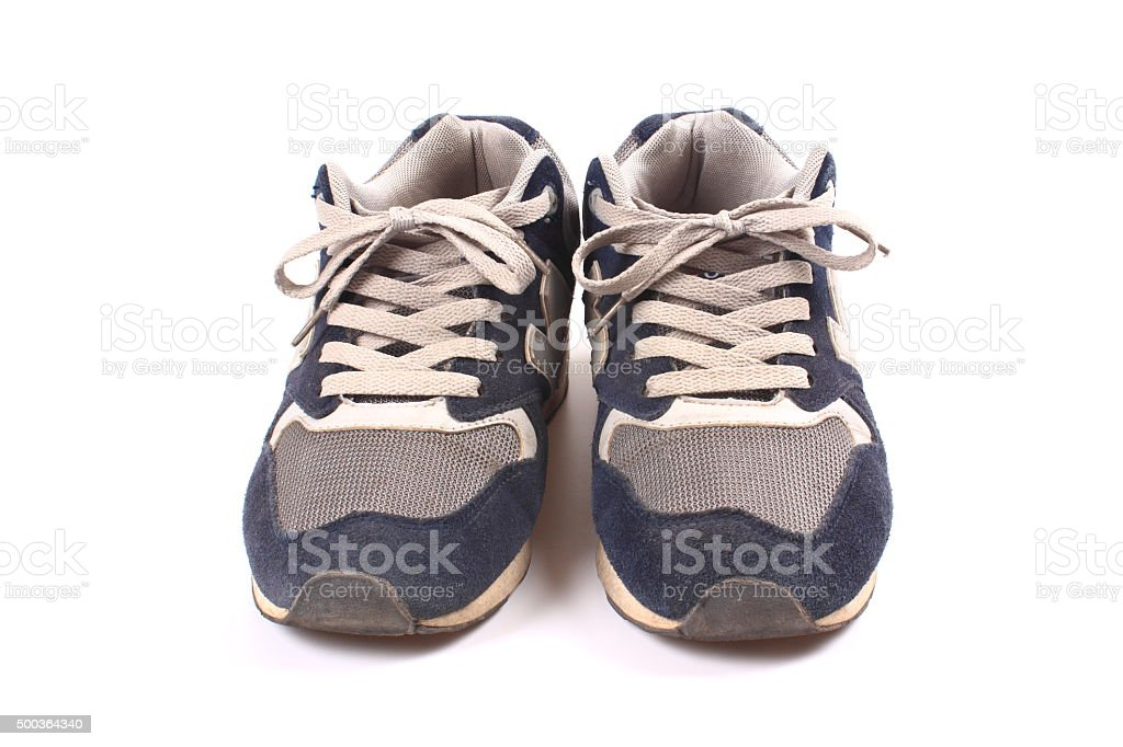 Sports shoes stock photo