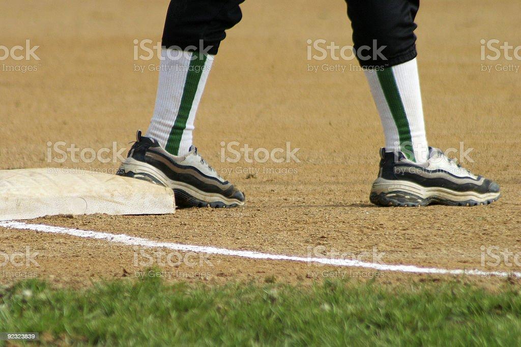 Sports - Softball royalty-free stock photo