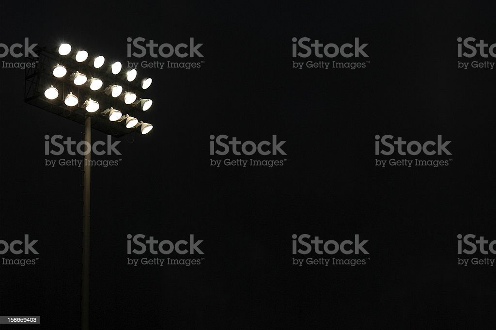 Sports Stadium LIghts royalty-free stock photo