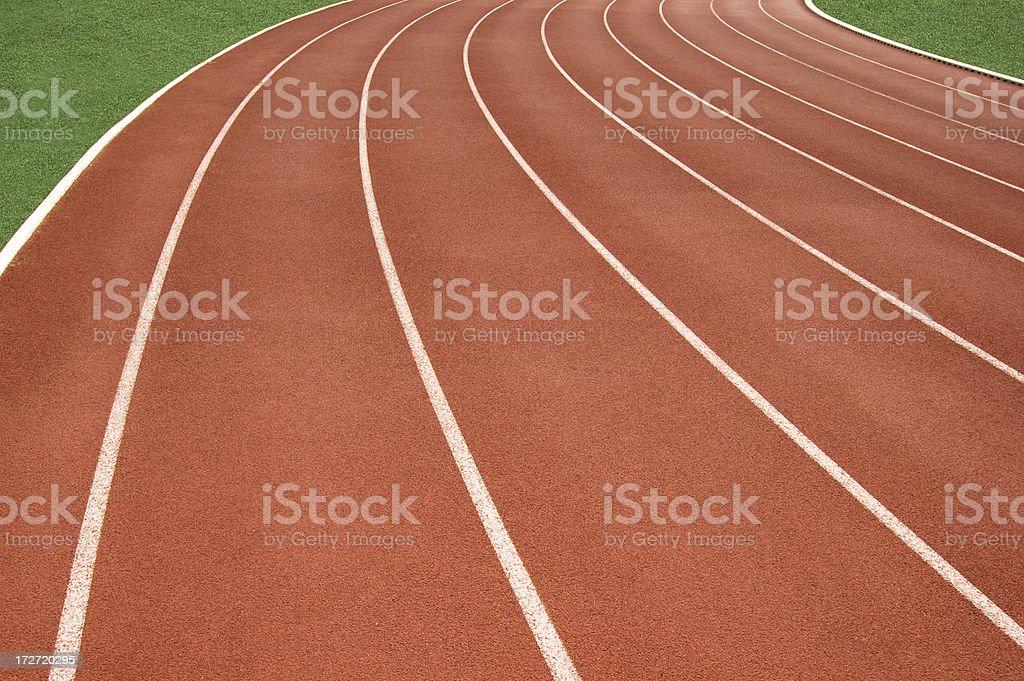 sports track royalty-free stock photo
