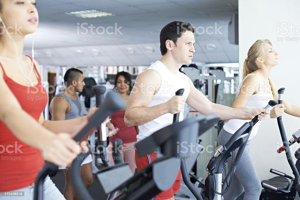 Sports training royalty-free stock photo