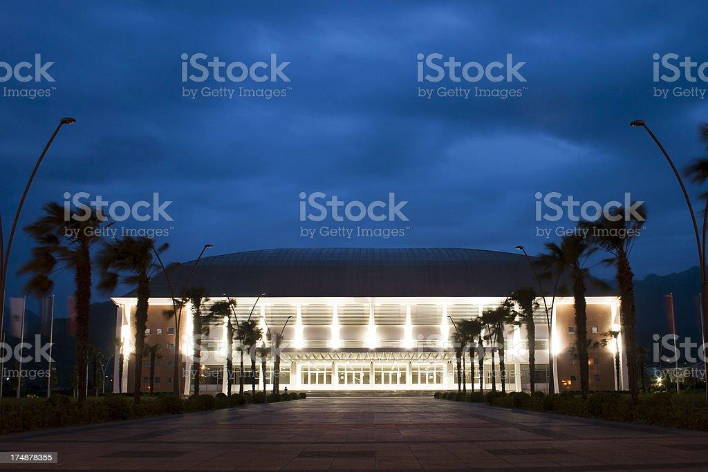 Sports venue stock photo