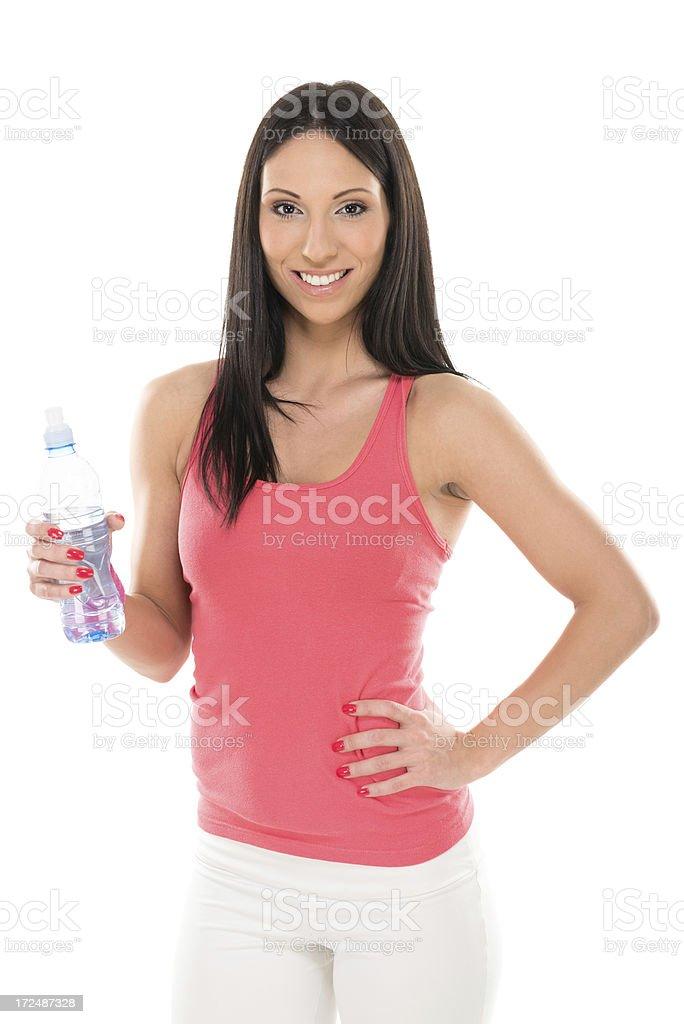 Sports woman royalty-free stock photo