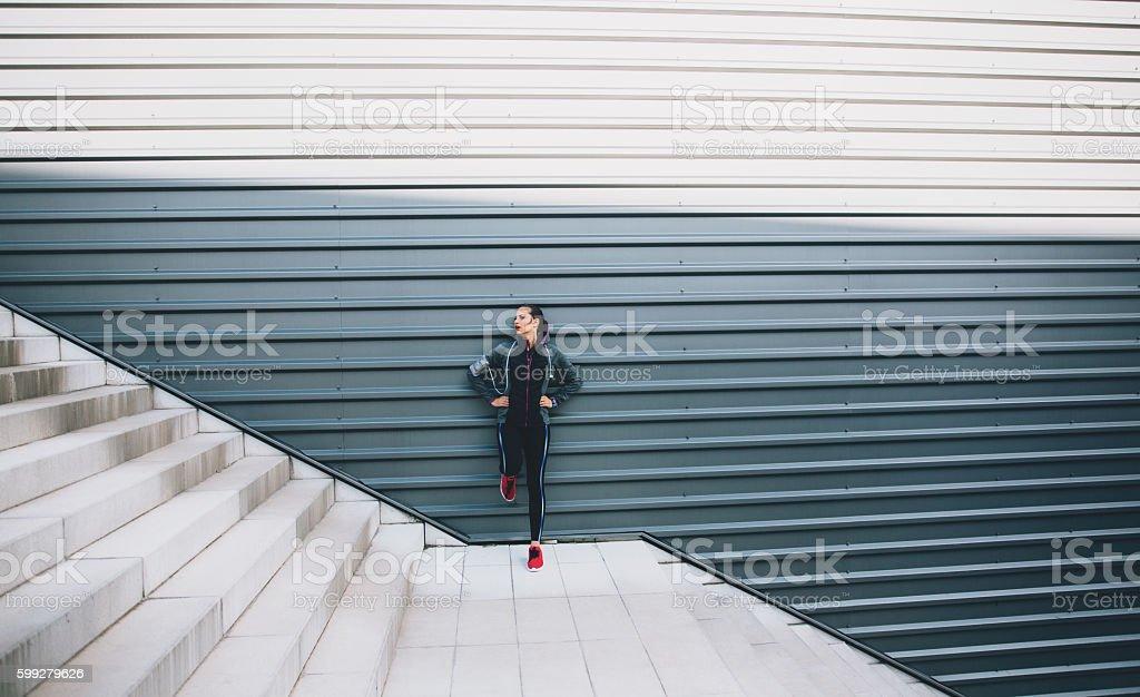 Sports Woman stock photo