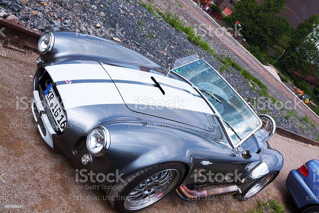 Sportscar AC Shelby Cobra stock photo
