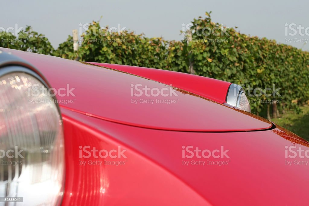 Sportscar Detail royalty-free stock photo