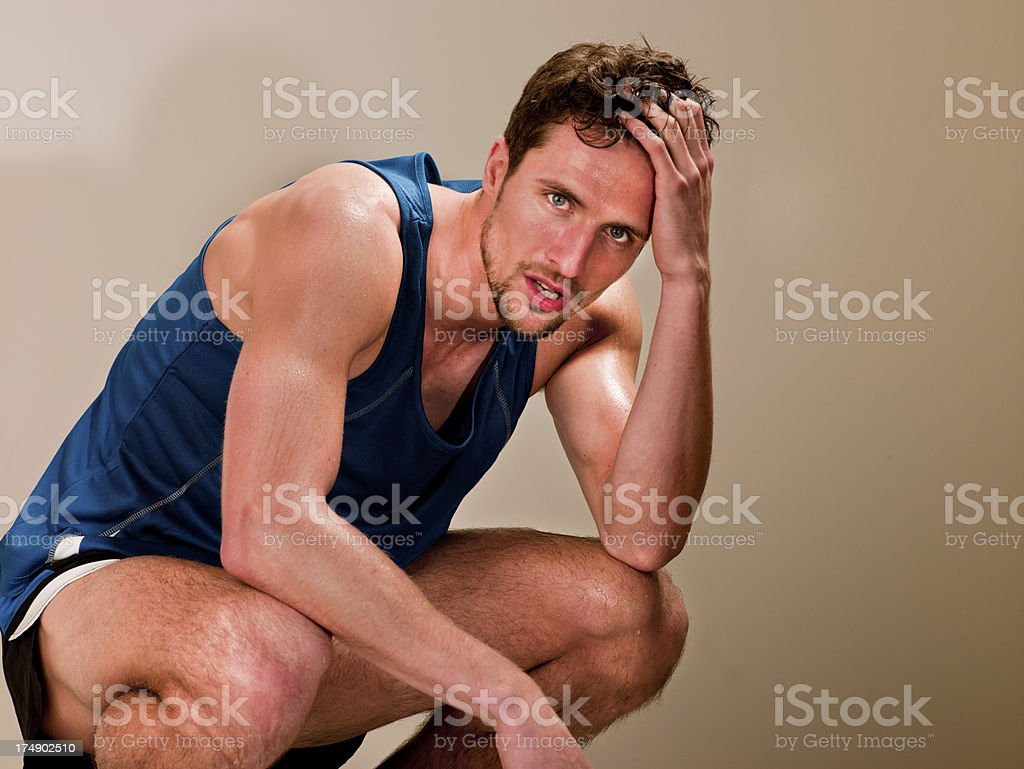 Sportsman royalty-free stock photo
