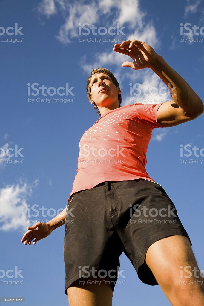 sportsmen royalty-free stock photo