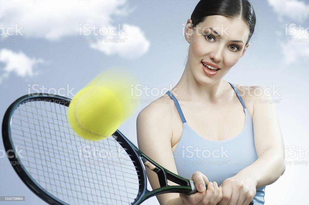 sporty girl royalty-free stock photo