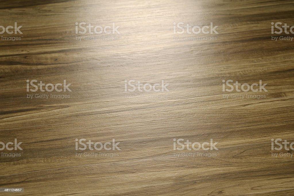 Spot light on wood texture royalty-free stock photo