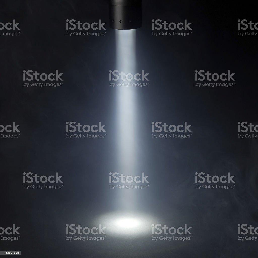 spotlight on stage stock photo