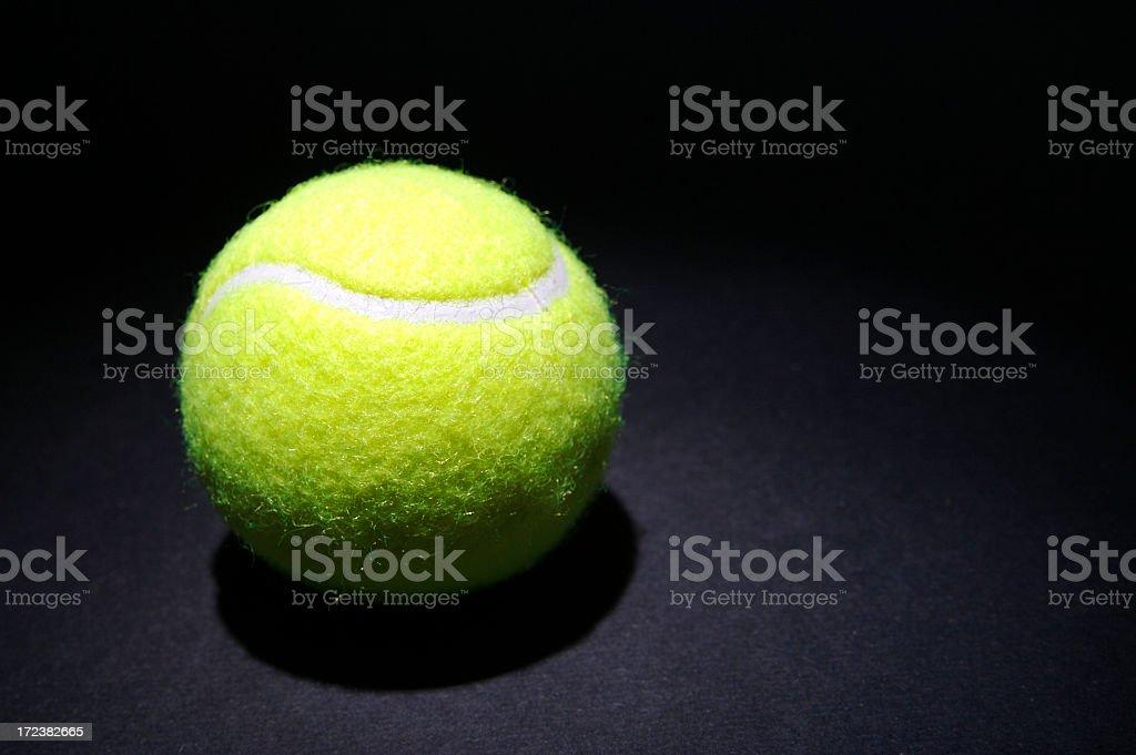 Spotlight on Tennis royalty-free stock photo