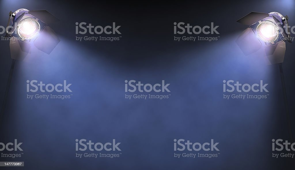 Spotlight royalty-free stock photo