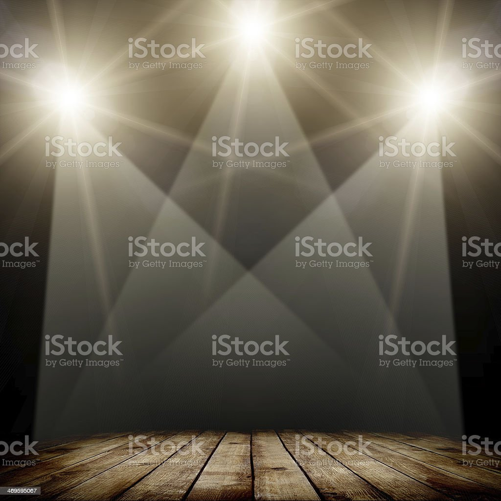 spotlight stock photo