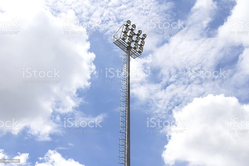 Spotlight Tower royalty-free stock photo