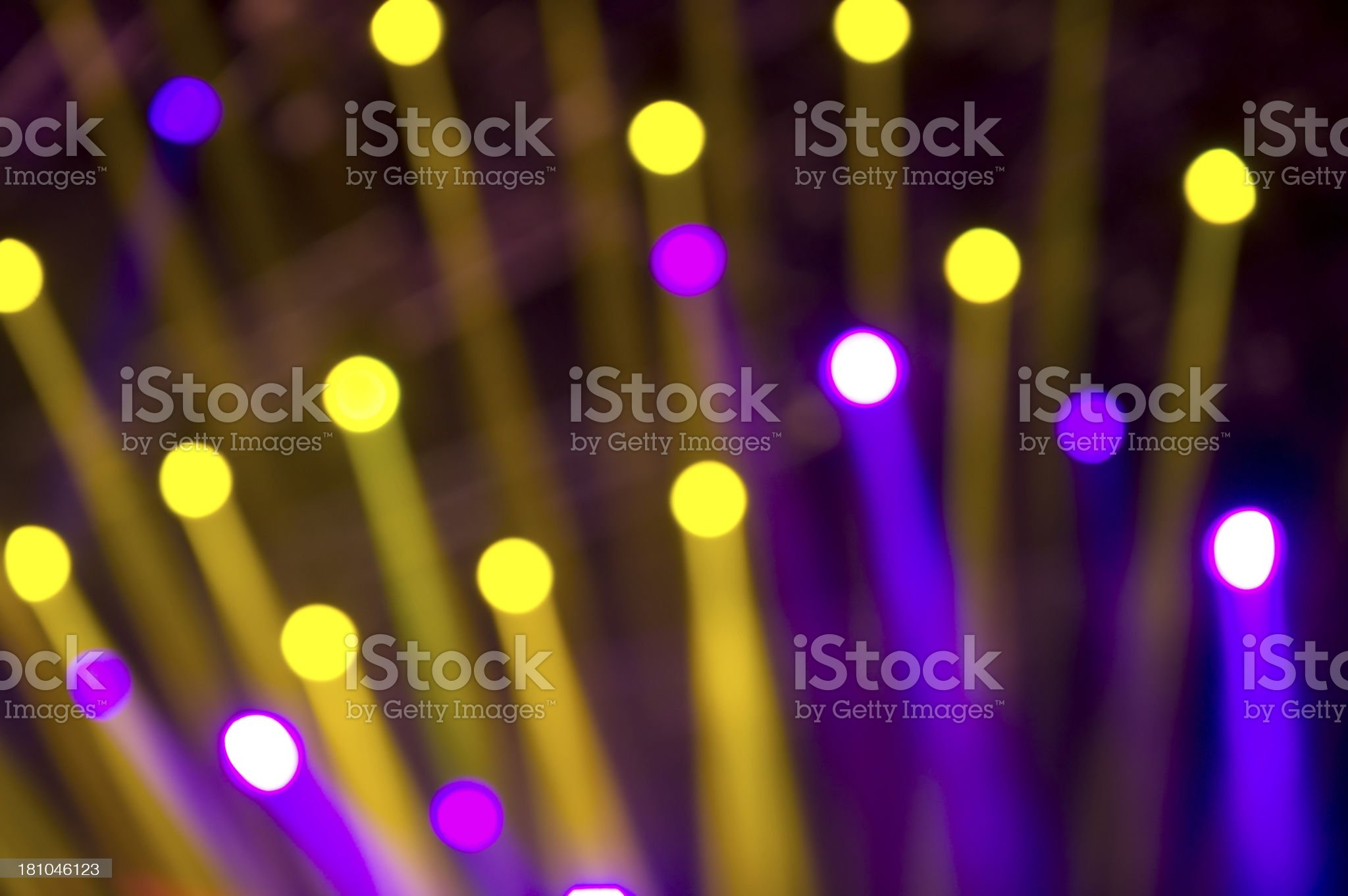 Spotlights Abstract royalty-free stock photo