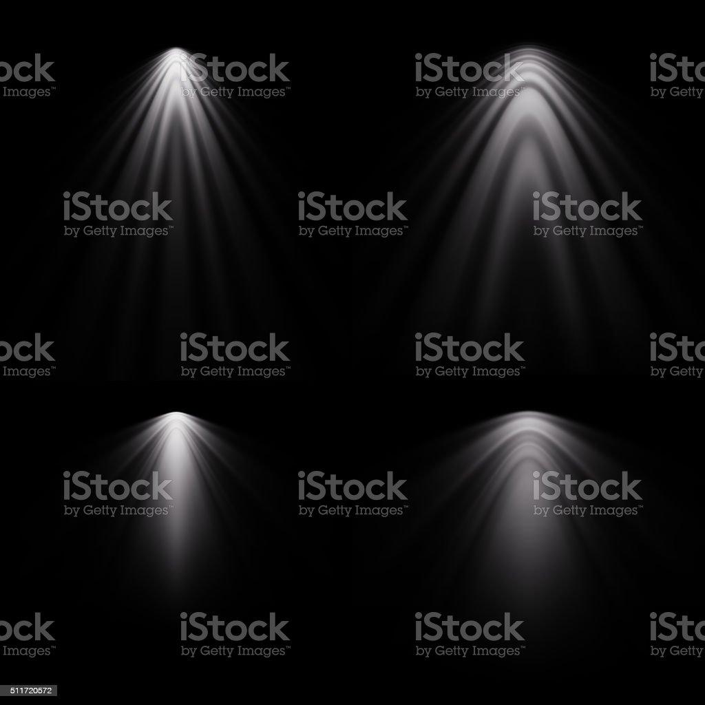 spotlights stock photo