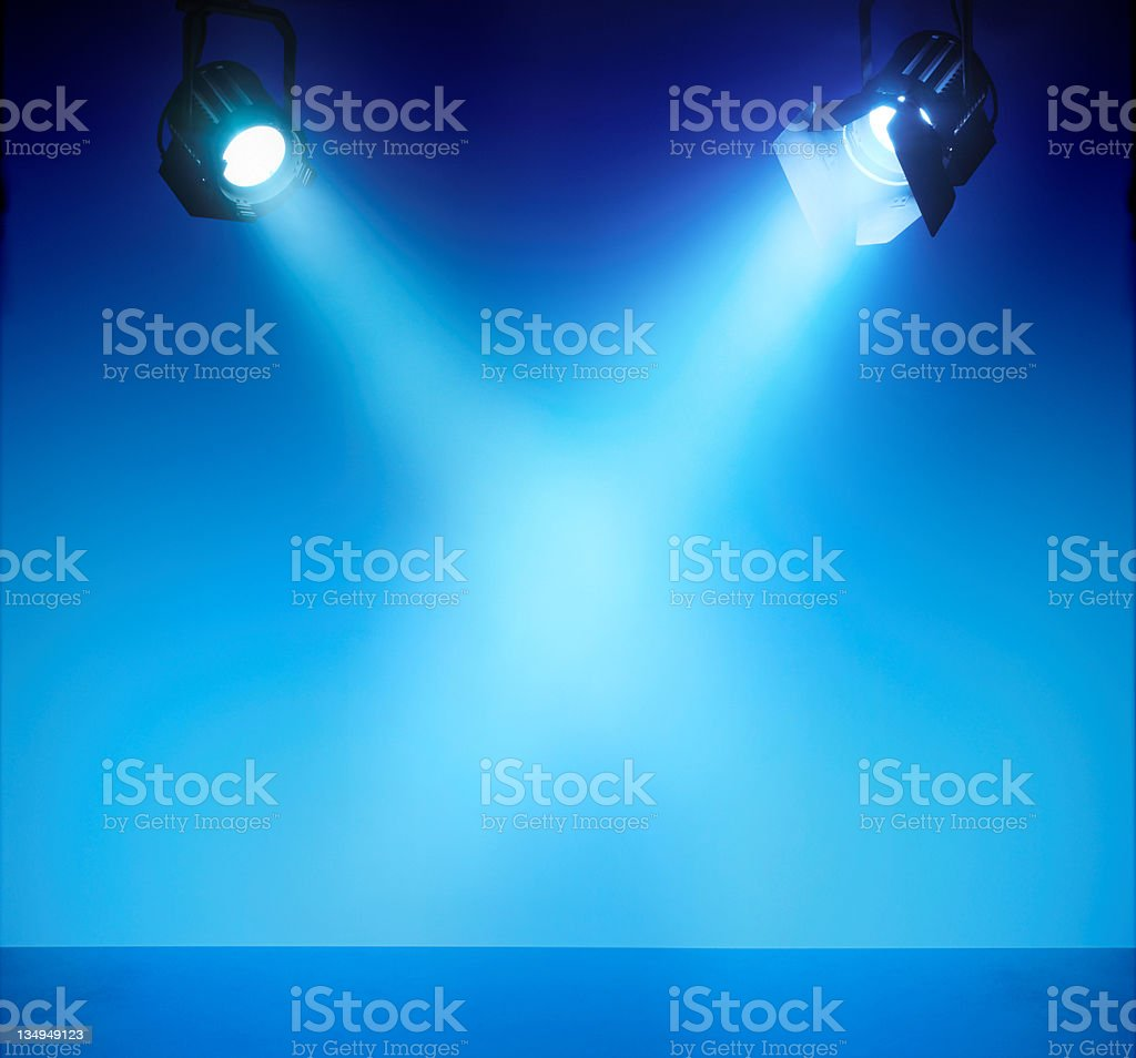 Spotlights XXL stock photo