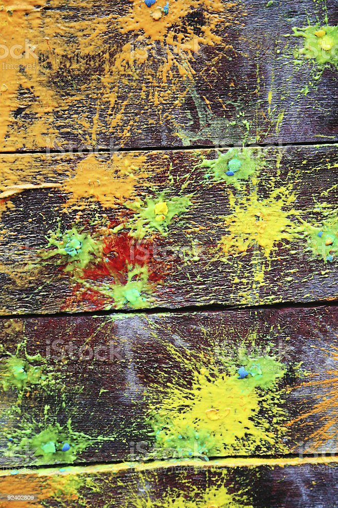 Spots of a paint stock photo