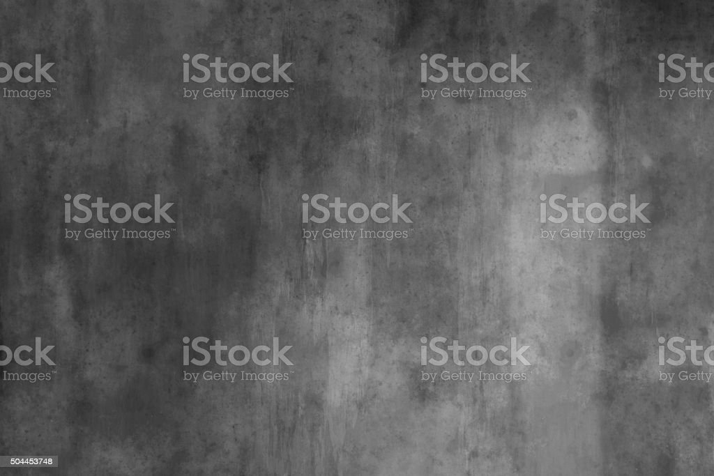 Spotted Concrete wall stock photo
