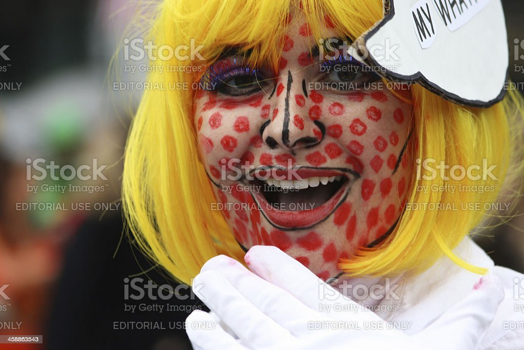 Spotted Face royalty-free stock photo