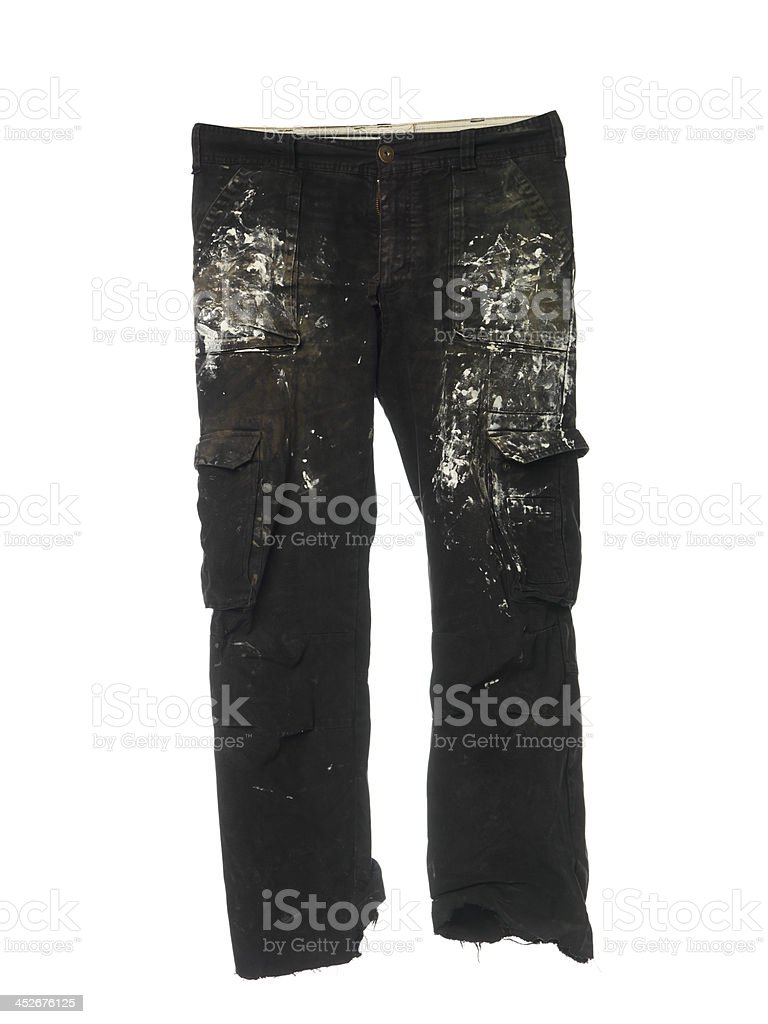 Spotted pants stock photo