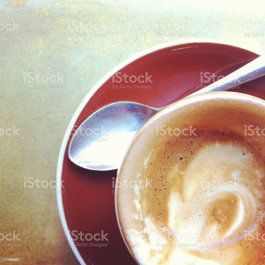 Macchiato stock photo