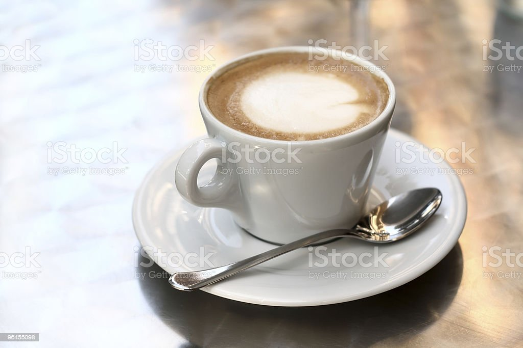 Macchiato royalty-free stock photo