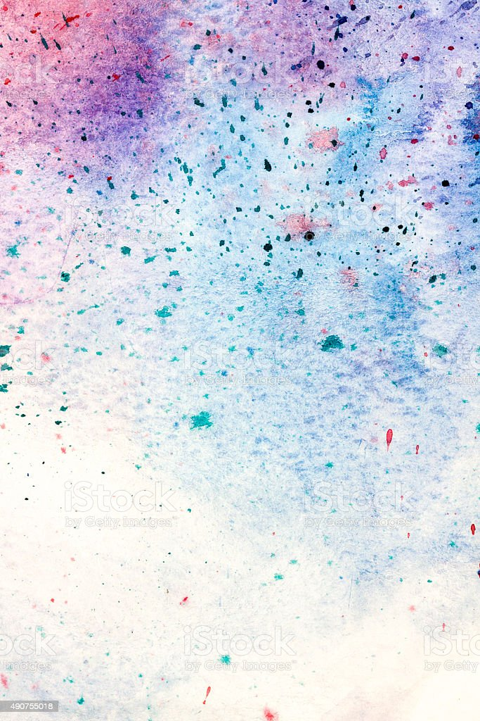 Spotty paint abstract background stock photo