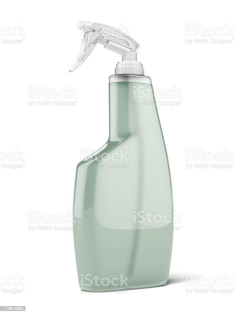 spray bottle stock photo