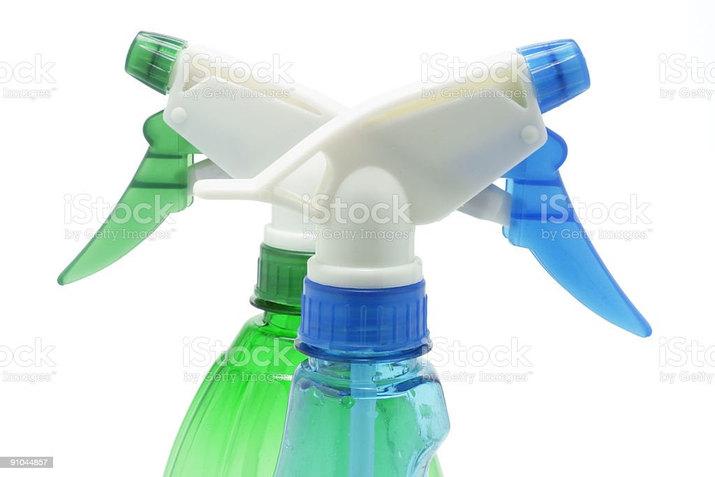 Spray Bottles royalty-free stock photo