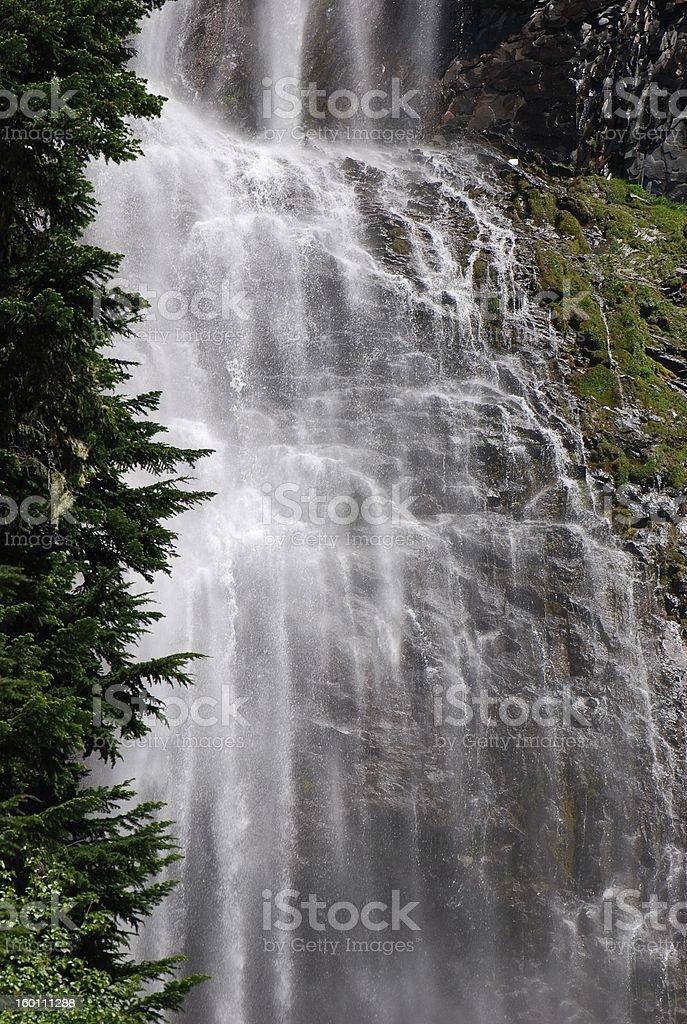 Spray Falls Closeup stock photo