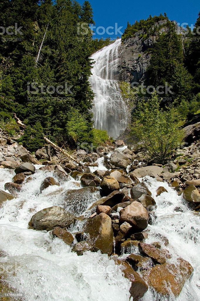 Spray Falls stock photo