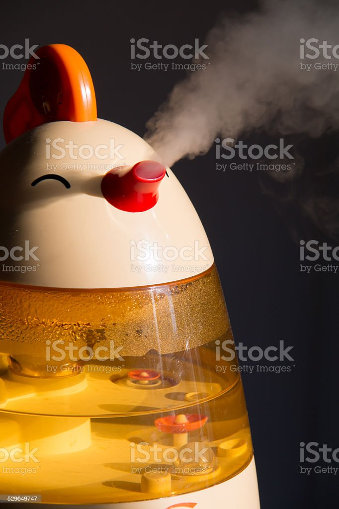 Spray humidifier stock photo